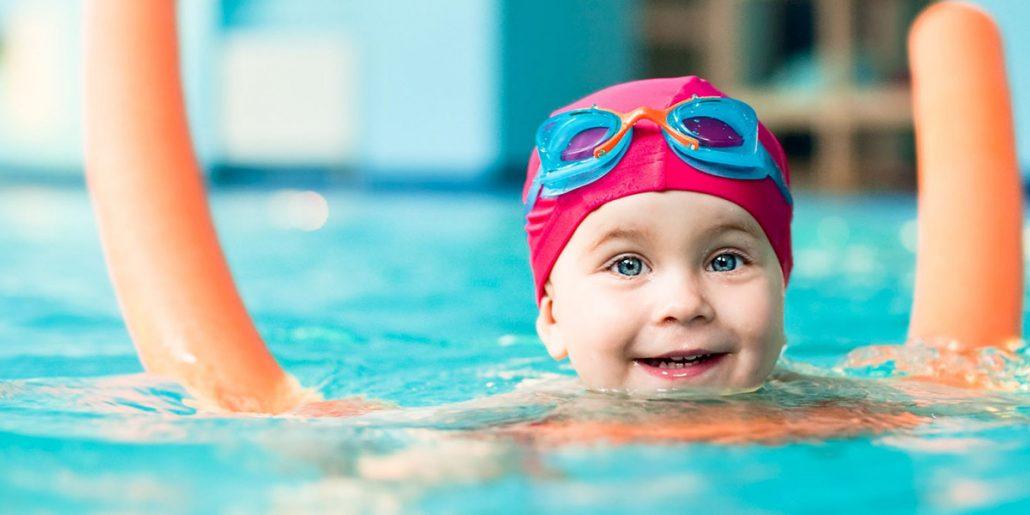 natação para bebês